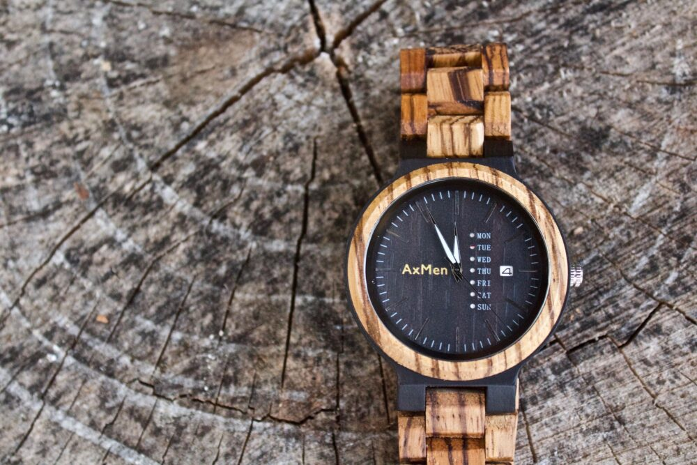 Free Engraving, Wood Watch, Mens Wooden Gift For Him, Personalized Wedding Gift, Groom