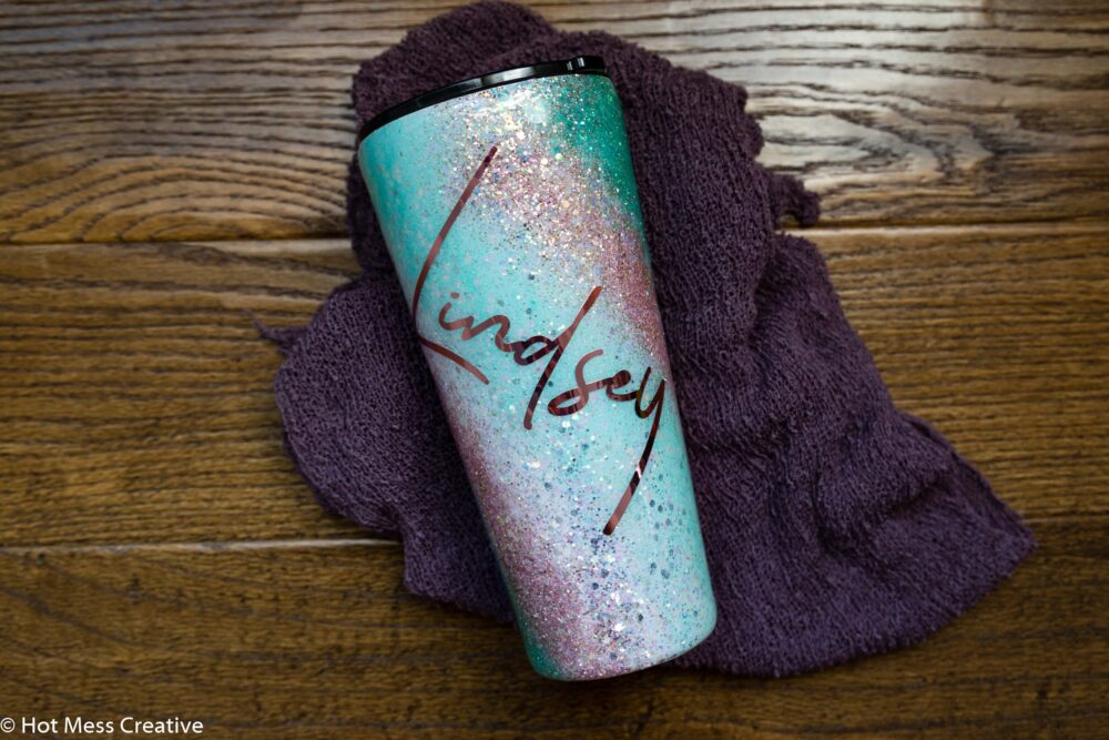 Personalized Tumbler, Custom Made Glitter Create Your Own Tumbler, Pick Colors, Just For You, Mothers Day Gift