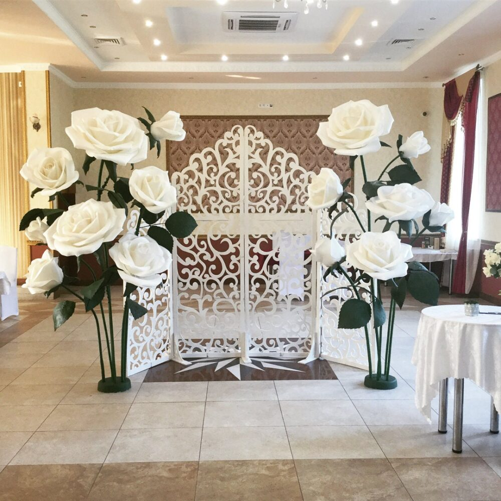 Large Paper Flowers For Wedding. Giant Wedding Decoration. Bridal Shower. Decoration Party. Wall Decoration