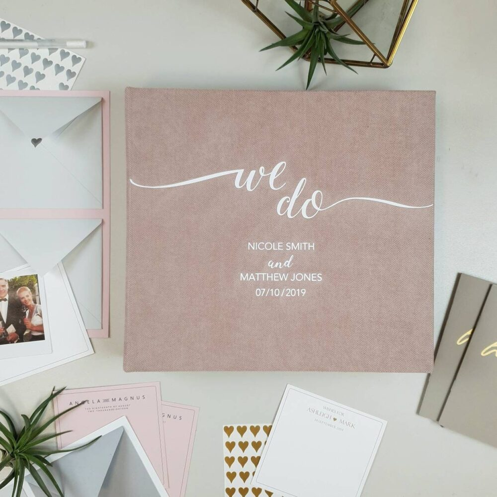 Minimalist Wedding Envelope Guest Book With Wishes & Advice Cards For Instax Pictures, Wedding Guest Ideas, Advice
