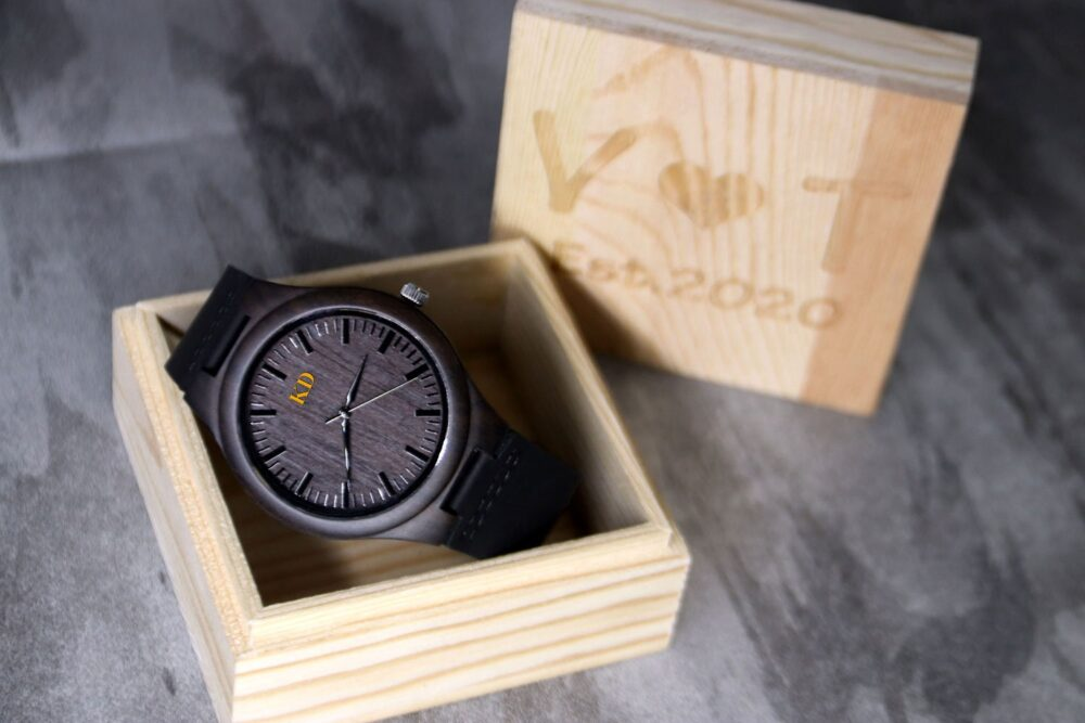 Groomsmen Gifts, Watches, Wooden Watch, Best Man Gift, Groom Personalized Mens Wood Usher Watches For Men