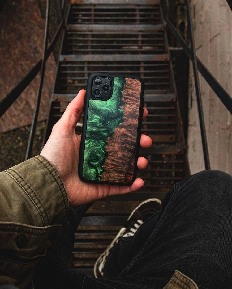 Customized Phone Cases, Resin Wood Case, Cover, Personalized Gift For Iphone, Samsung, Oppo, Huawei