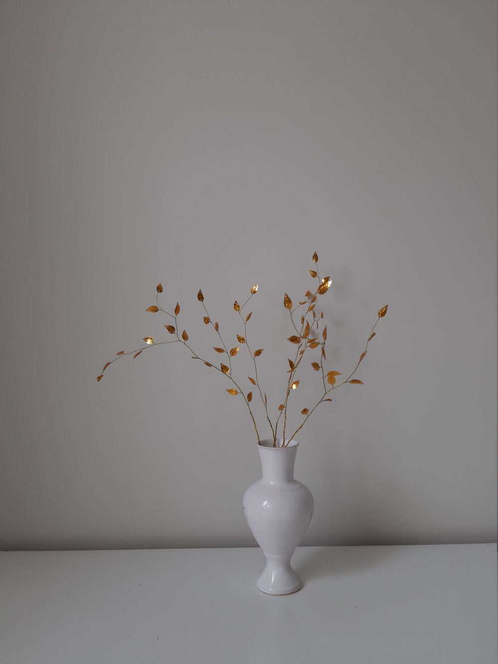 Wedding Centerpiece Fall Wedding Decor Autumn Decorations Table Branches For Vase Gold Artificial Minimal