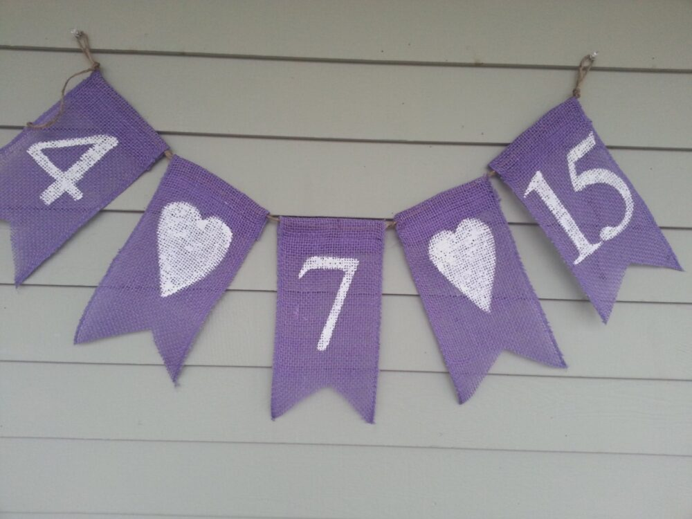 Save The Date Burlap Banner. Wedding, Showers, Engagement Photos