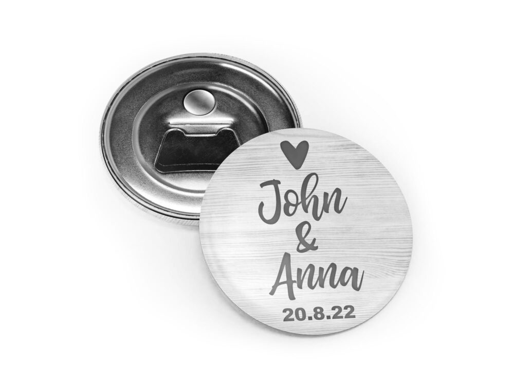 Wedding Favors Bottle Openers, Magnets, Beer Bottle Opener, Personalized, Inexpensive, Practical, Unique, Useful Favors