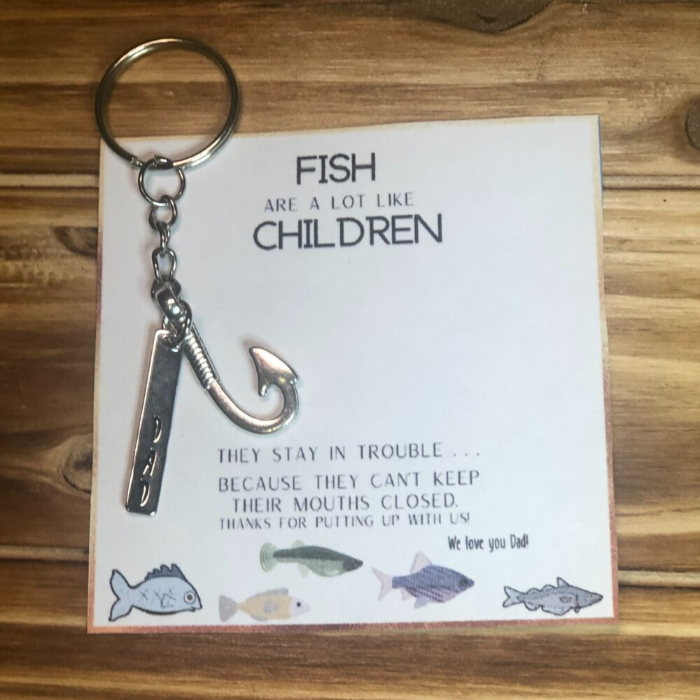 Daddy Keychain, Father's Day Gift, Gift Ideas For Dad, Keyring, Dad
