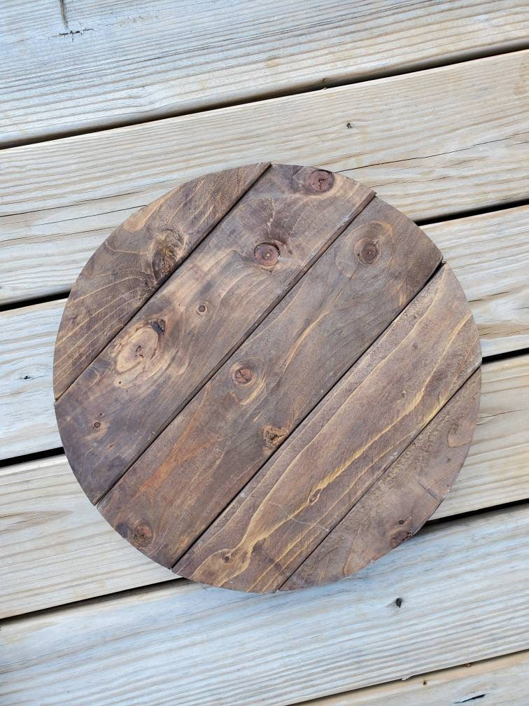 16 Rustic Wood Wedding Cake Stand, Any Size Tray. Birthday Pizza Decoration Handmade Cupcake Stand Cup Tray Display Pie