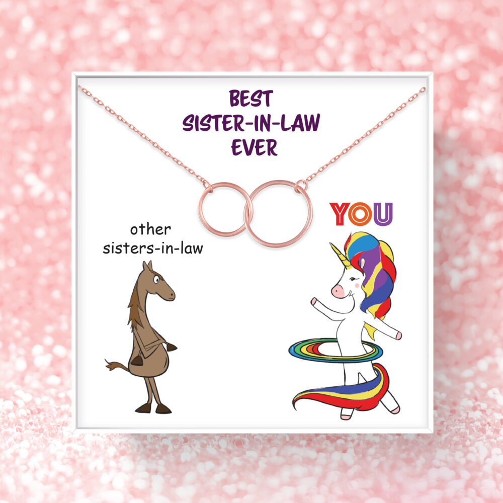 Sister in Law Birthday Gift | Best Ever For Necklace