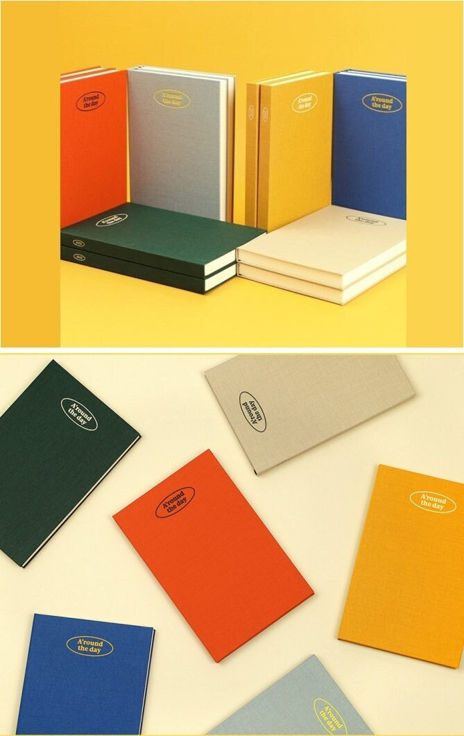 2022 Weekly Planner L[6Colors]/Monthly Yearly Daily Office