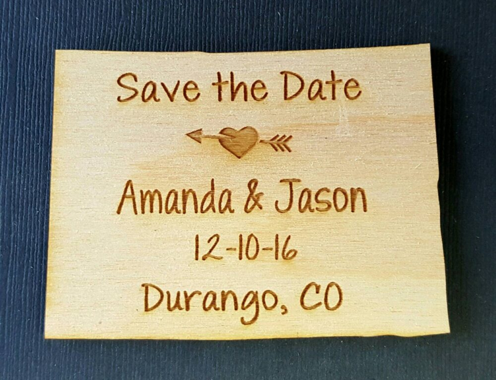 50 Coloradosave The Date Wedding Favor, State Magnets - Bride, Groom, Gift, Save Date, Rustic, Custom, United States
