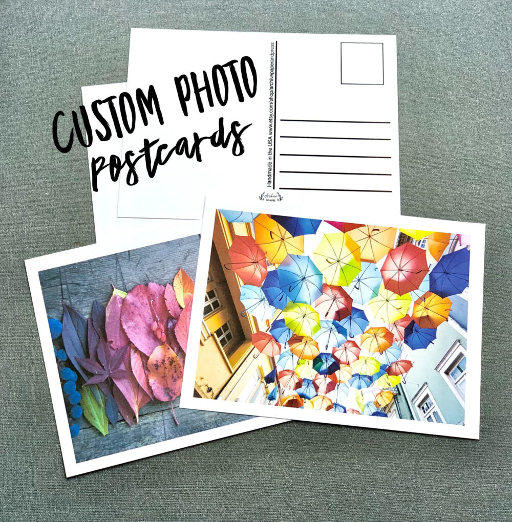 Bulk Custom Postcards - Photo Post Cards On Matte Papers Quality Thick Penpal Letter Create Your Own Postcard Postcrossing