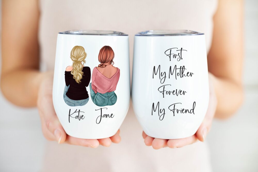 Personalized Mother's Day Gift, Mom Gifts, Wine Glass, Tumbler, Gift Or Her, Unique