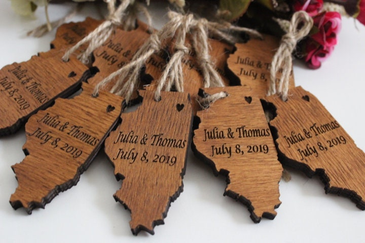 Wedding Favors For Guests, Wood Ornaments, Favors, Christmas Rustic Wood, Ornament